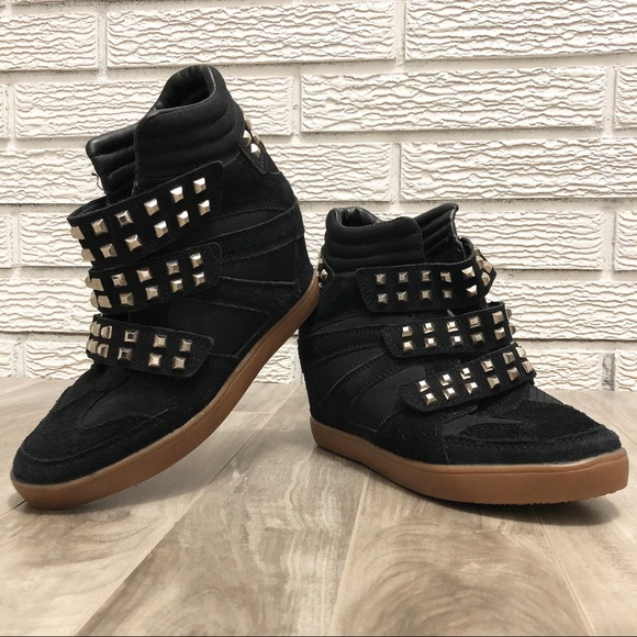 Vlado Shoes - Black Suede | Stud Sneaker Booties